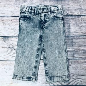 Amy Coe 6-9m  washed out boys jeans